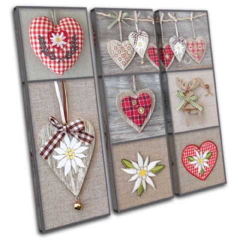 Hearts shabby chic Love - 13-0563(00B)-TR11-LO